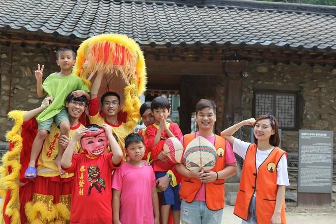 Trại hè đầu tiên dành cho các em Việt Nam tại Hàn Quốc