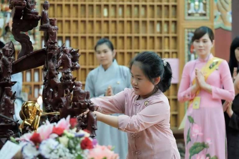 Ý nghĩa lễ tắm Phật