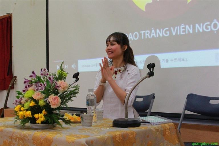 Talkshow của MC Lâm Ánh Ngọc tại Hàn Quốc
