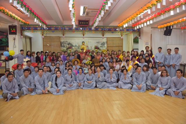 Khoá tu tại Chùa Jungtosa, miền Nam Hàn Quốc